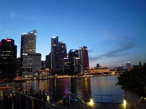 シンガポール夕方2