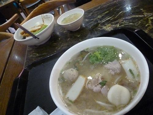 3日目夕飯麺