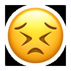 痛い顔Apple