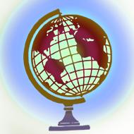 地球儀素朴線画Pixabay