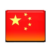 中国プラ旗アイコン