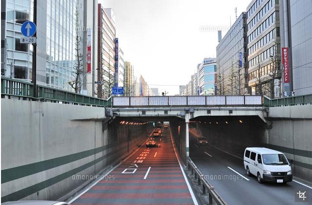 昭和通りのアンダーパス