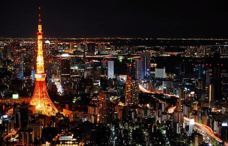 東京タワー 素敵な夜景