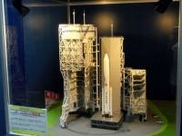 角田台山公園9ロケット発射場模型
