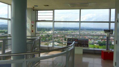 角田台山公園13スペースタワー展望台