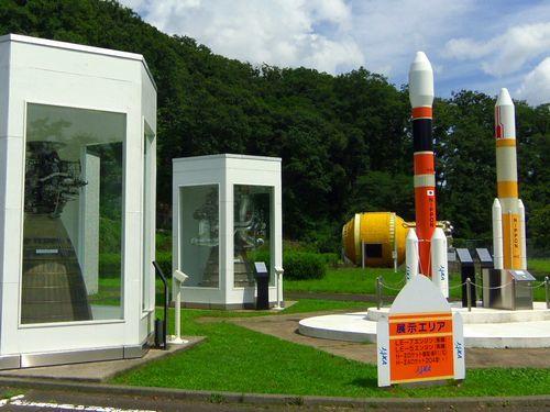 JAXA角田宇宙センター5野外展示場