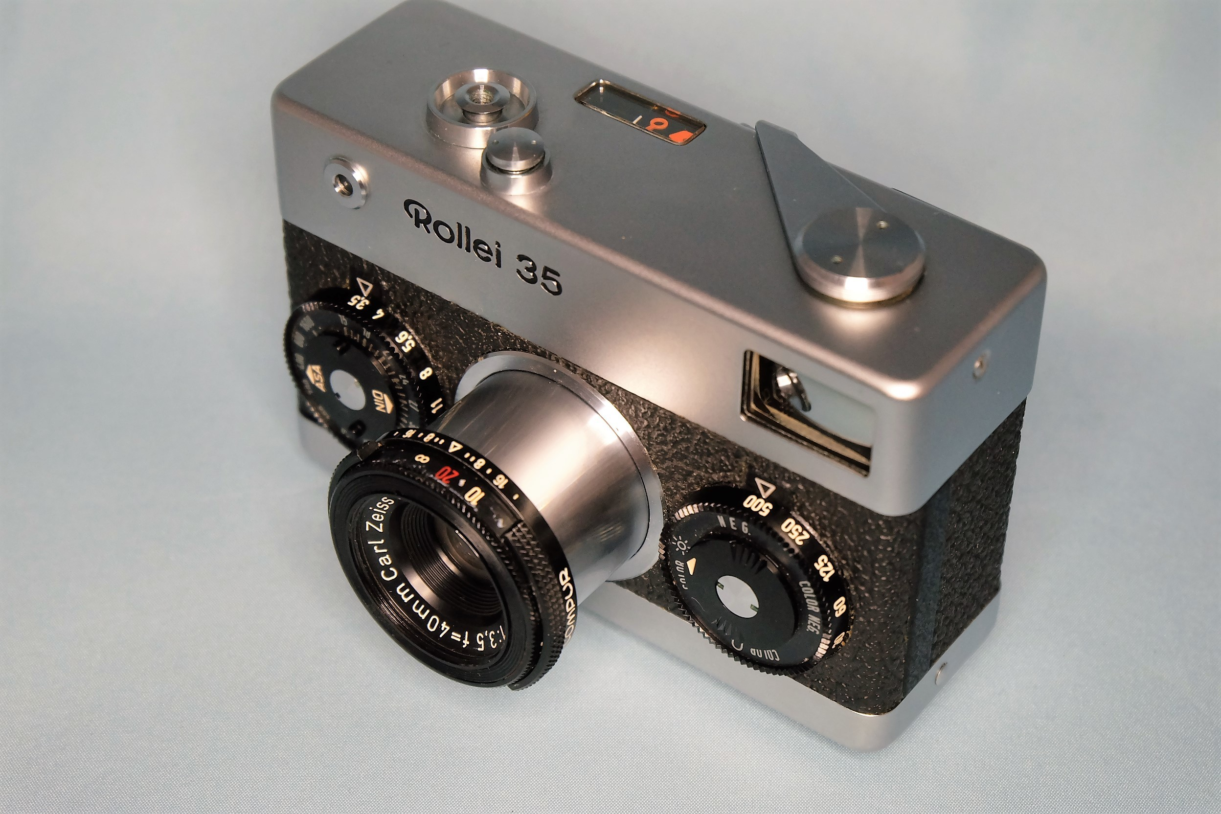 ローライ35修理完了(大和サイトウカメラ)