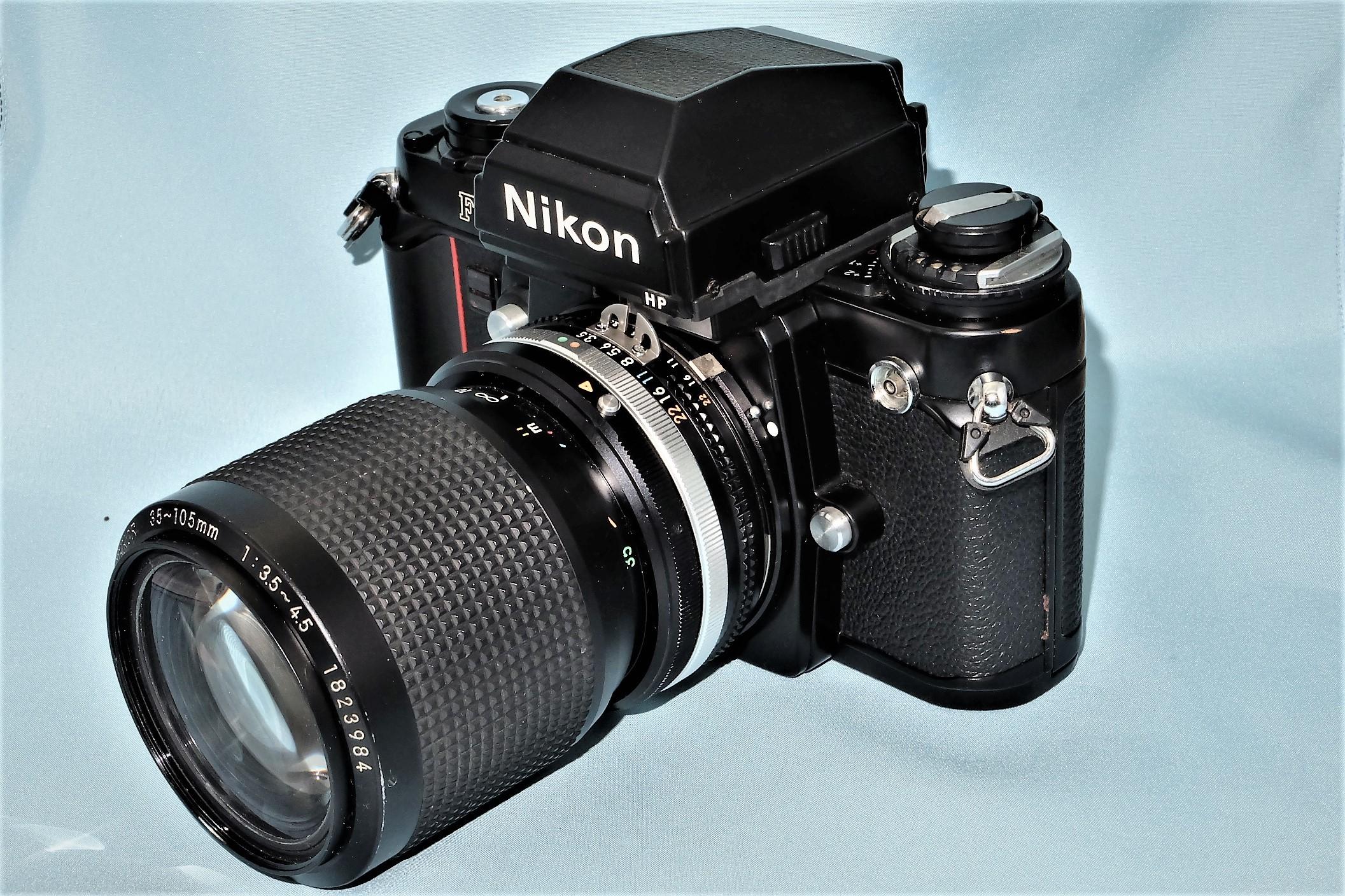 NikonF3モルト交換