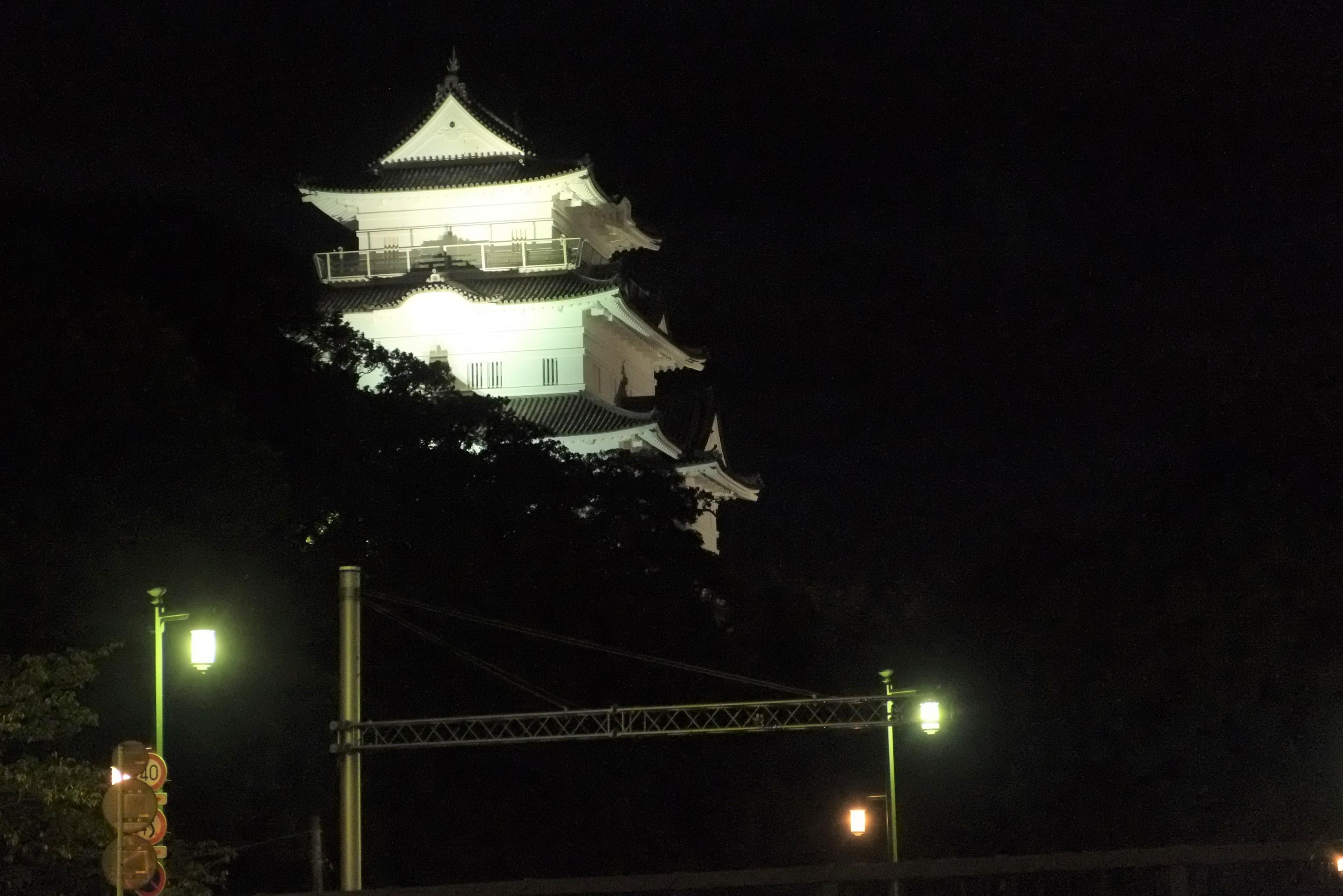 夜の小田原城1