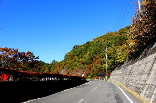 20171103 荒川ダムと板敷渓谷入口 (1)