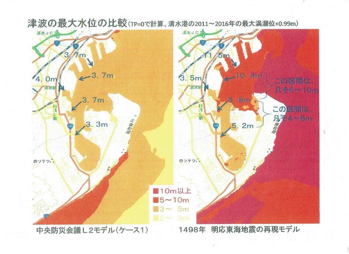 明応津波高さ
