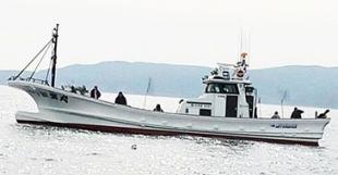 常呂港 釣り船 第88 新生丸 オホーツク海 遊漁船