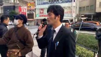 日本第一党員村上利一さん(次期地方統一選立候補予定)
