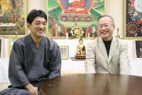民進党議員有田芳生と上祐史浩