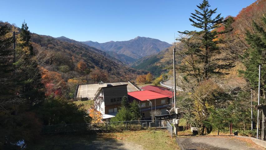 見ノ越の大劔神社からの眺め