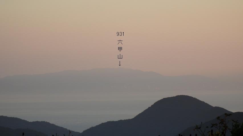 神戸市の裏山
