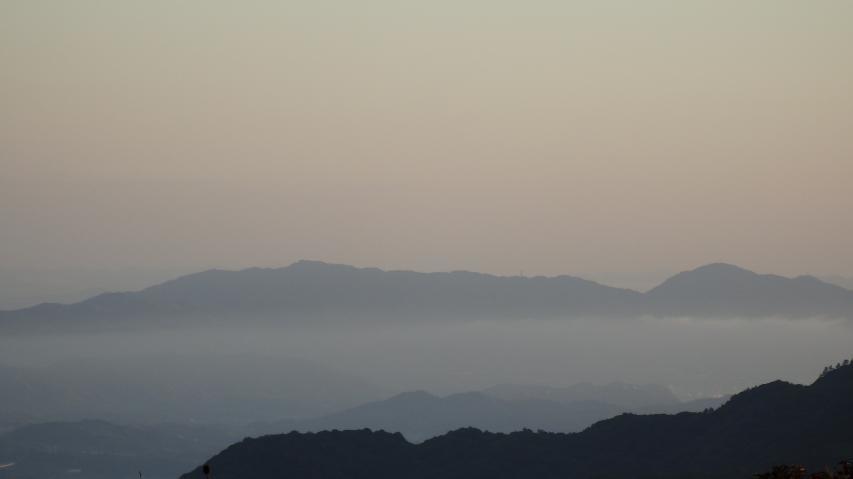 淡路島北部の山