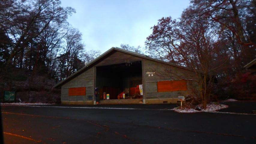 06時22分に森の駅 「ファガスの森」 に到着