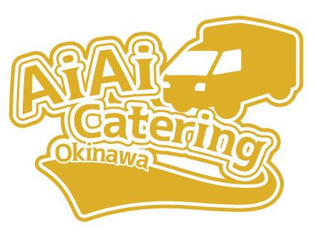 沖縄ケータリング会社のポロシャツマークmini