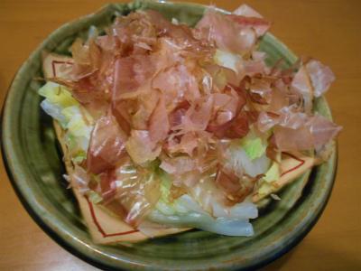 9.29白菜のお浸し