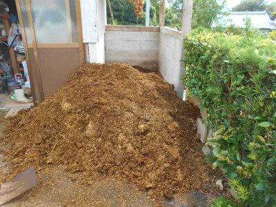10.5堆肥が来た