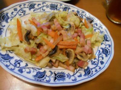 10.6アジアンな野菜炒め