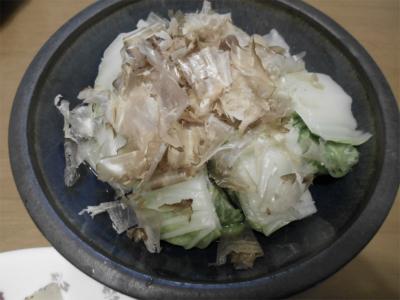 301013白菜のお浸し