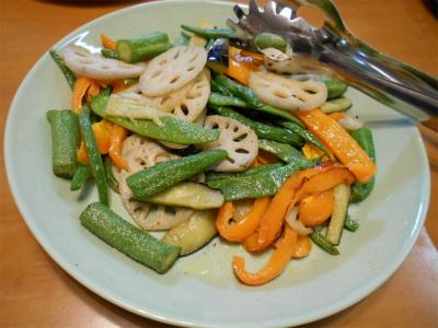 301004野菜の素揚げ