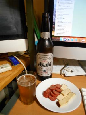 301020ビールとツマミ