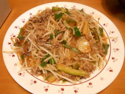 301102簡単肉野菜炒め