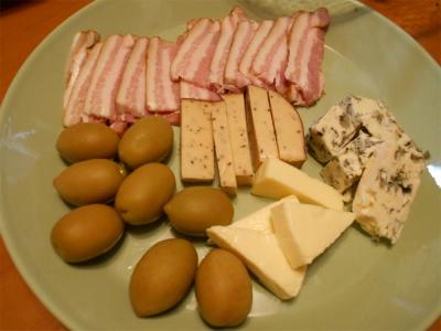 301030チーズ等盛り合わせ