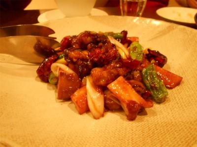 301201牡蠣のピリ辛炒め