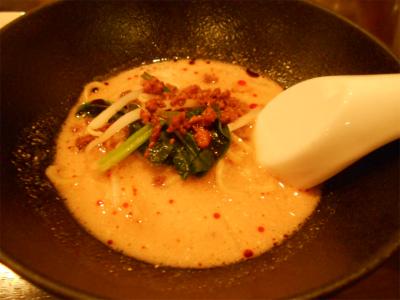 301201締めの担々麺