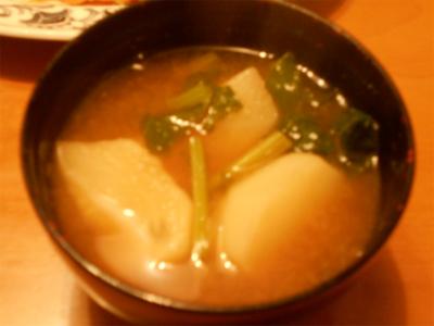 301207カブの味噌汁