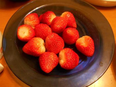 301220食後のイチゴ