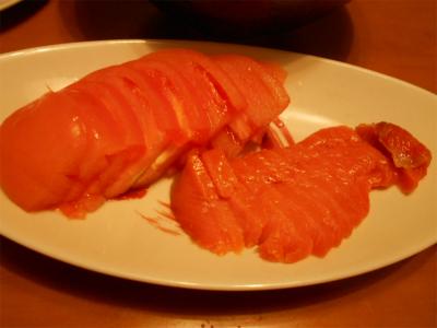 310119トマトとスモークサーモン