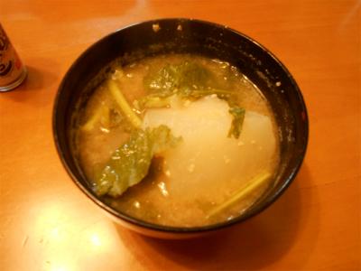 310126カブの味噌汁