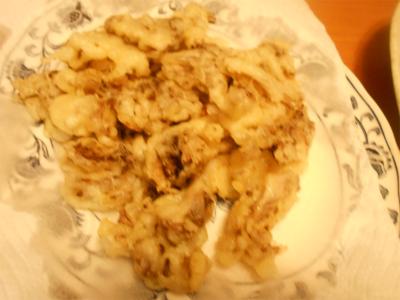 310217舞茸の天ぷら