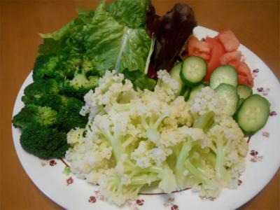 310217野菜を盛っただけ