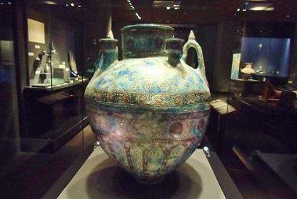 コバルトの壺