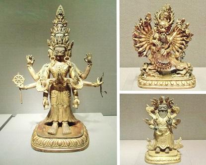 チベットの仏像