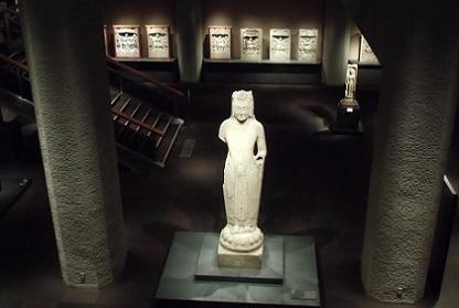 上からのお仏像
