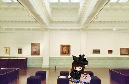 おしゃれな展示室
