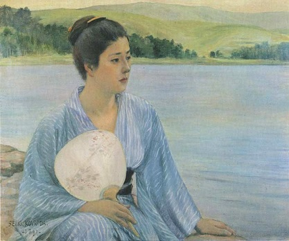 黒田清輝 湖畔