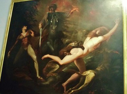 グイド カヴァルカンティの亡霊に出会うラオドール