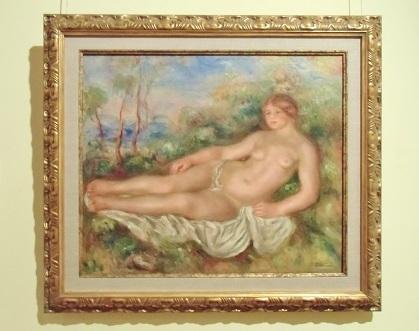 ルノワール 横たわる浴女