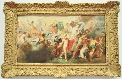 ルーベンス作 神々の会議の模写