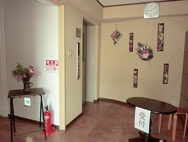 敬老会 玄関2