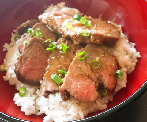 2017-10-30-ステーキ丼 (2)