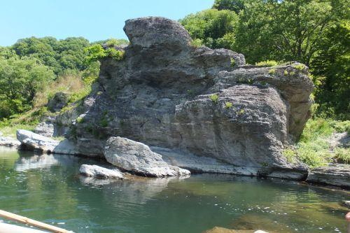 岩 上から DSCF9362